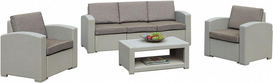 Комплект мебели Афина-Мебель AFM-3017G светло-серый