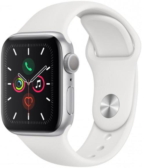 Умные часы Apple Watch Series 5 44mm MWVD2 Silver/White