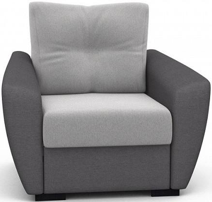 Кресло-кровать Цвет Диванов Амстердам Next светло-серый 114x90x76 см