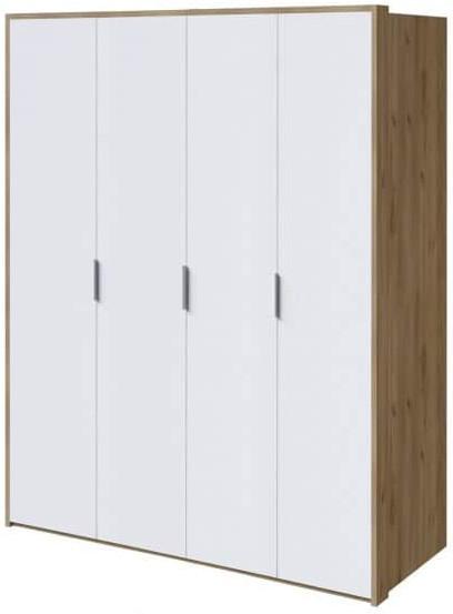 Шкаф Интердизайн Тоскано дуб крафт/белый 2209x1868x599 см