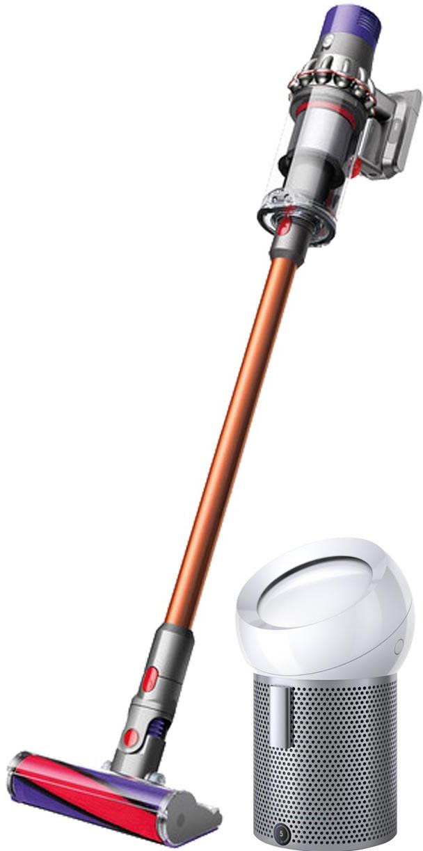 Вертикальный пылесос Dyson V10 Absolute + Очиститель воздуха Dyson Pure Cool Me BP01