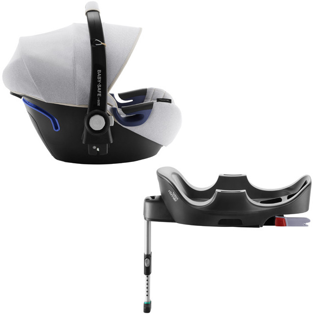 Автокресло Britax Roemer Baby-Safe2 i-Size Nordic Grey (0-13 кг) + Base Flex