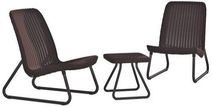 Комплект мебели Keter Rio Patiо виски коричневый