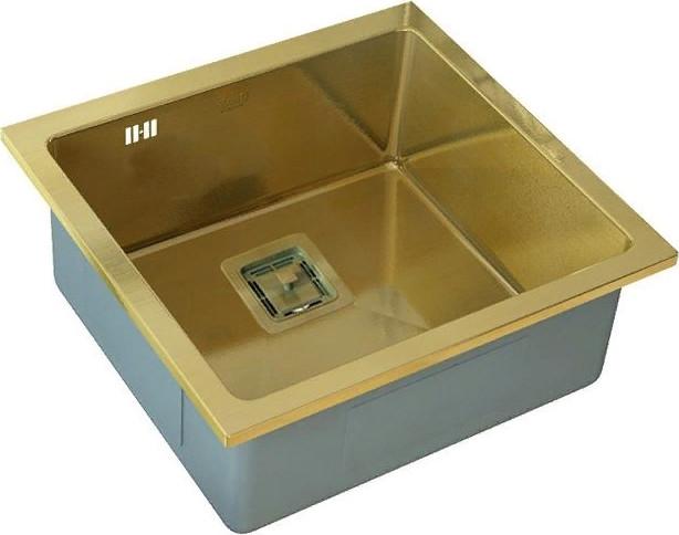 Кухонная мойка Zorg SZR-44 Bronze