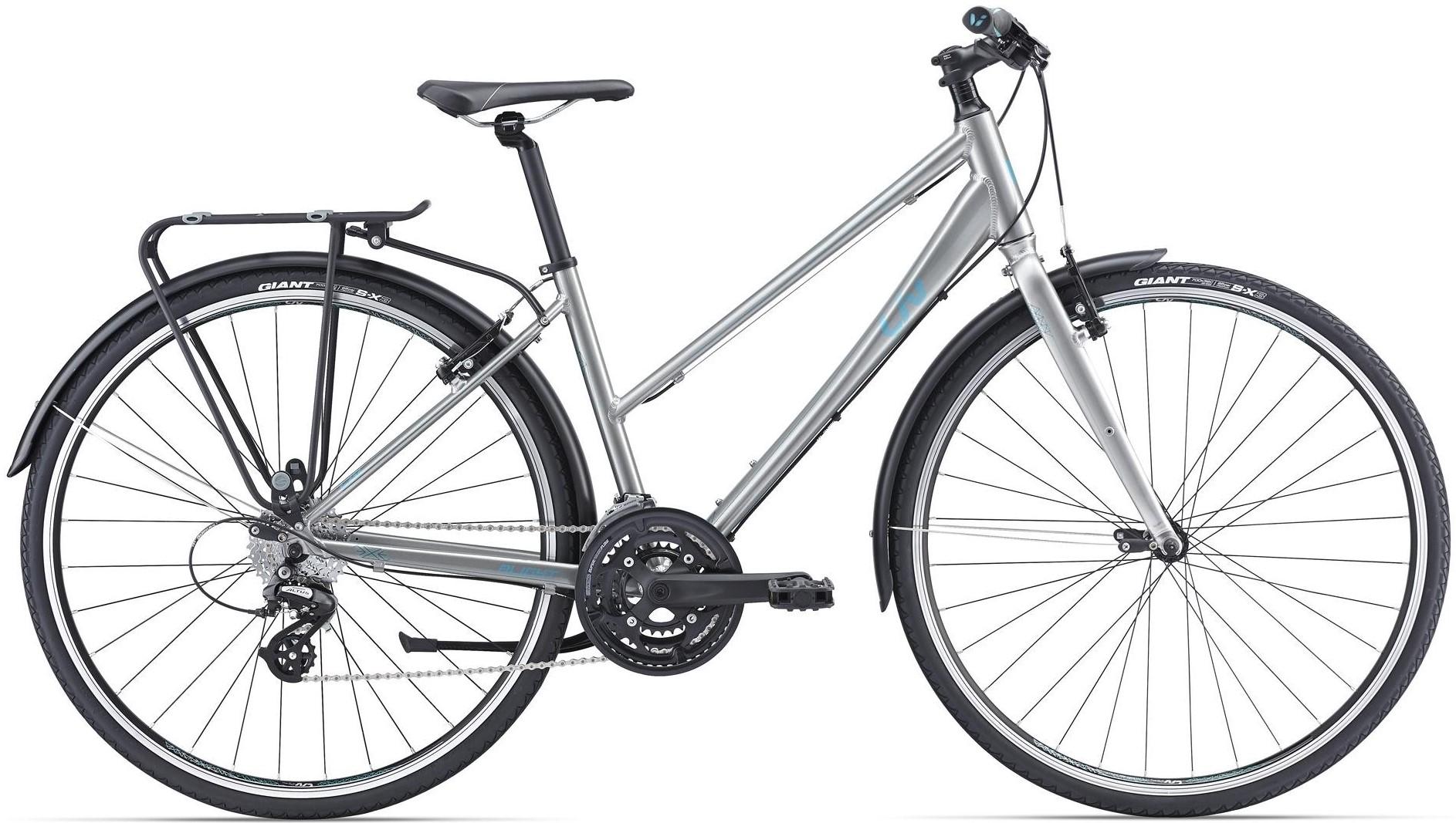 """Велосипед Giant Alight 2 City Silver 28"""""""