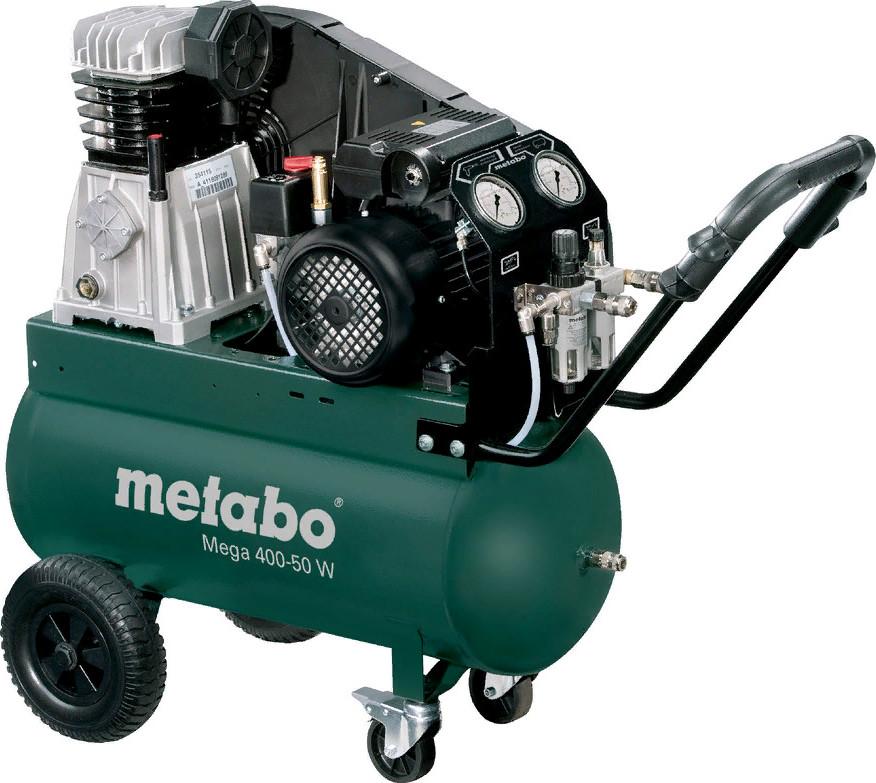Ременной компрессор Metabo Mega 400-50 W