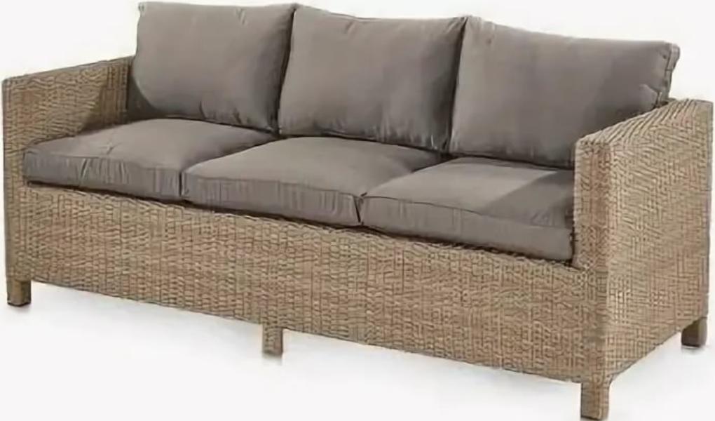 Диван Афина-Мебель S65B-W65 светло-коричневый