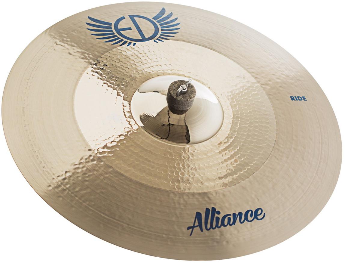 "EDCymbals Ride Alliance 21"""