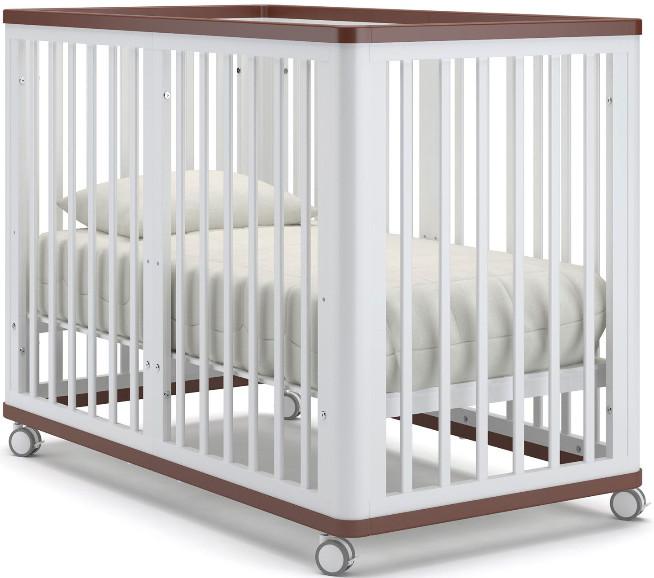 Кроватка Nuovita Ferrara белый