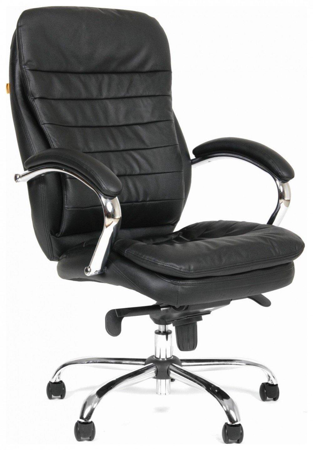 Кресло руководителя Chairman 795 кожа черный
