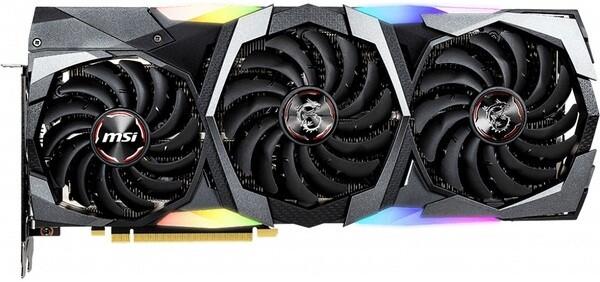 Видеокарта MSI GeForce RTX 2070 Super Gaming Trio 8Gb