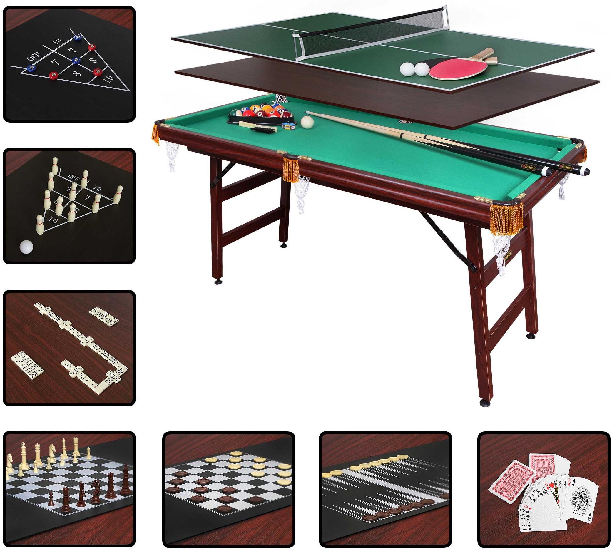 Бильярдный стол Fortuna Пул 5FT 9в1