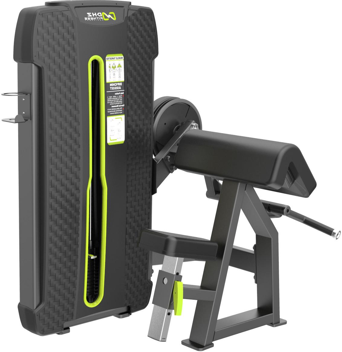 Грузоблочный тренажер DHZ Camber Cur Стек 105 кг E-4030A