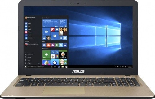 "Ноутбук Asus X540UB-DM264 15,6""/2GHz/4Gb/500Gb/GeForce MX110/Linux Black/Gold"