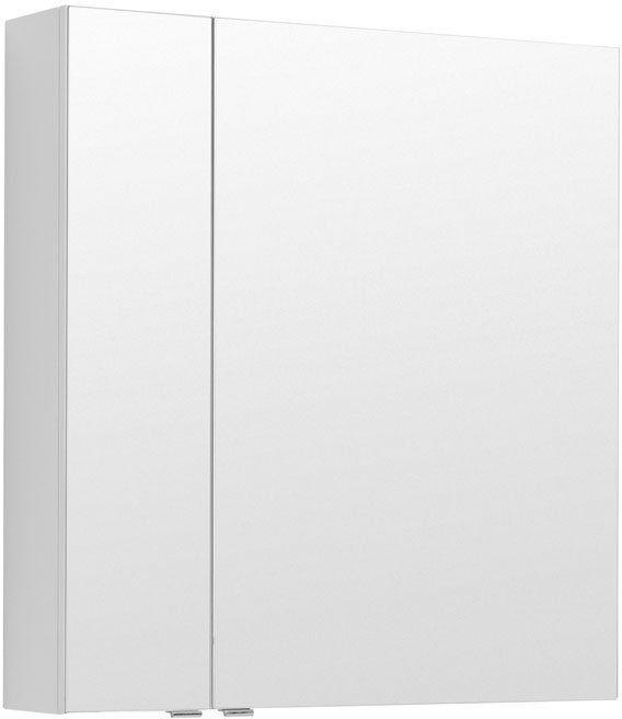 Зеркало-шкаф Aquanet Алвита 80 белый 80x85x17 см