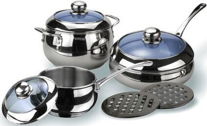 Набор посуды Vitesse VS-1011 (8 предметов)