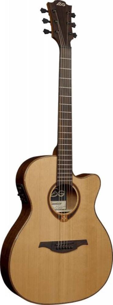 Акустическая гитара LAG GLA T118ACE