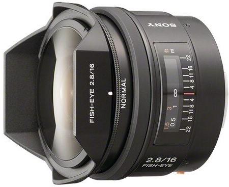 Объектив Sony 16mm f/2.8 Fisheye SAL-16…