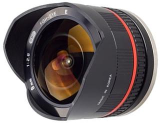 Samyang MF 8mm f/2.8 UMC Fish-eye Sony E (NEX) Black