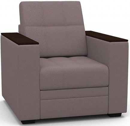 Кресло-кровать Цвет Диванов Атланта Next капучино 108x90x94 см