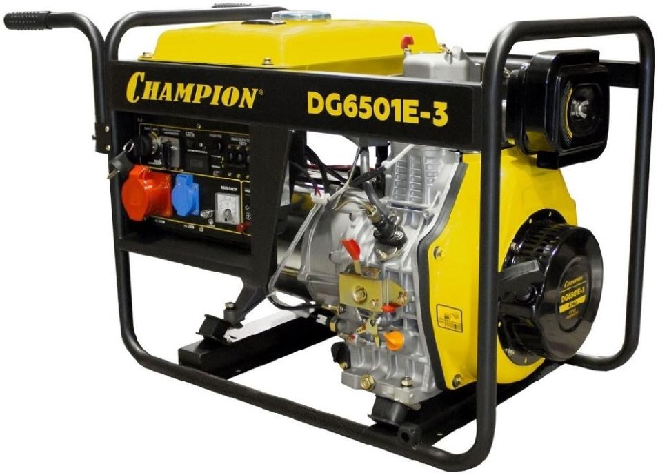 Электрогенератор Champion DG6501E-3