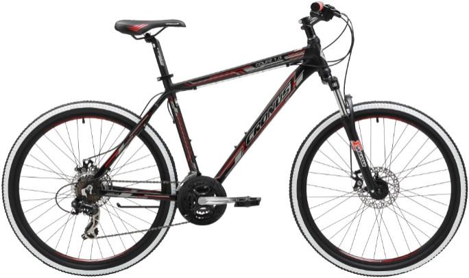 """Велосипед Cronus Coupe 1.0 (2016) черный/красный 26""""/21"""""""