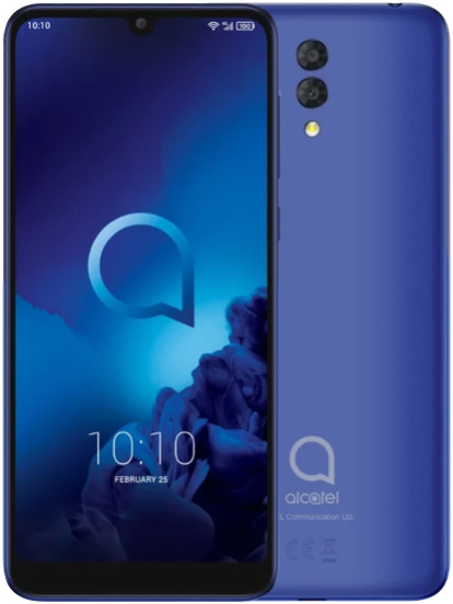 Смартфон Alcatel 3L 5039D 2019 LTE 2Gb 16Gb Blue