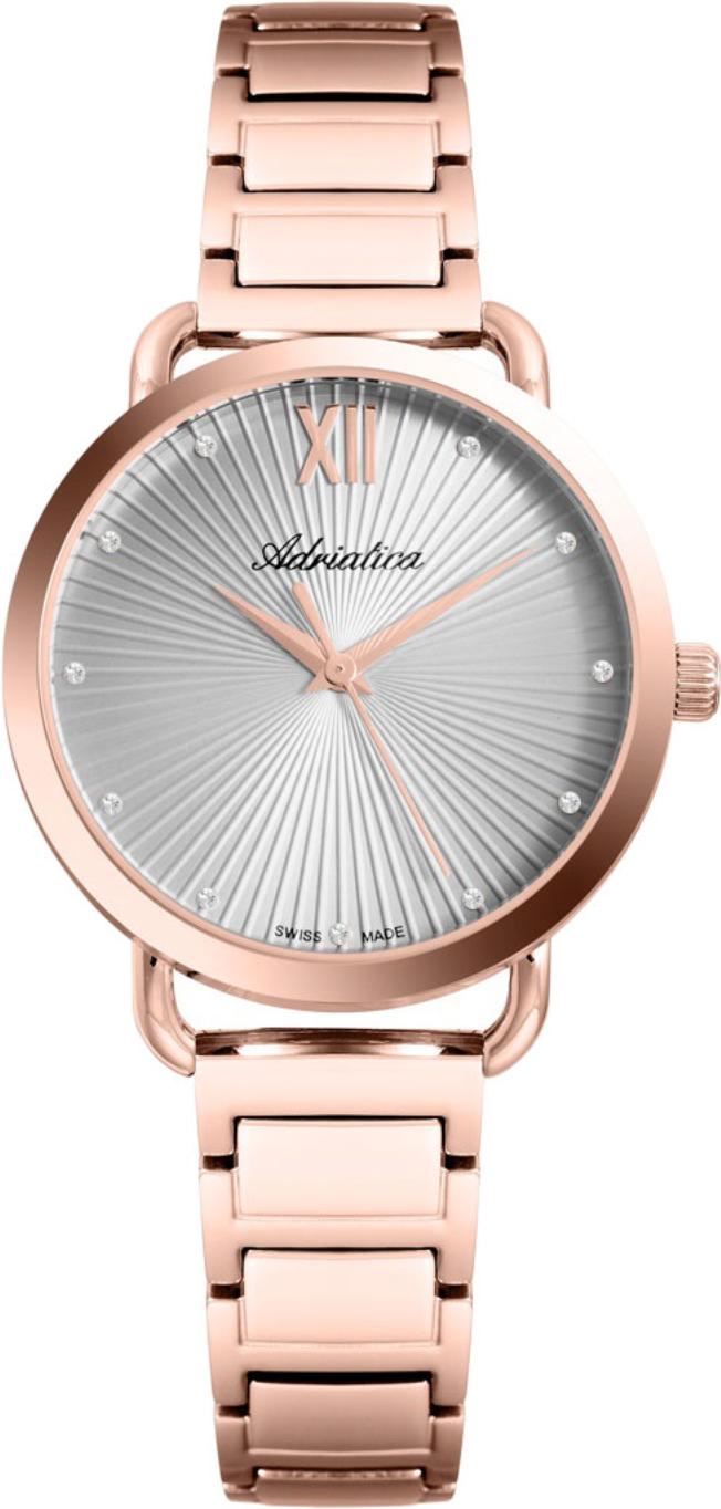 Наручные часы Adriatica Essence A3729 серый/стальной