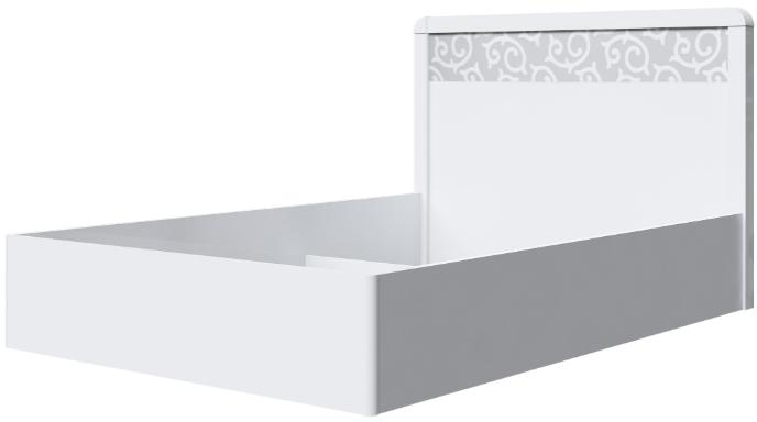 Корпус кровати Интердизайн Белла белый/белый 107x149x213 см