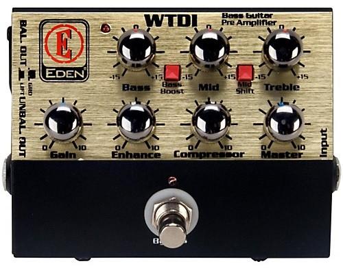 Предусилитель Eden WTDI Direct Box/Preamp