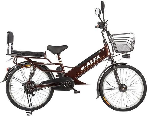 Электровелосипед Eltreco e-ALFA GL Broe…