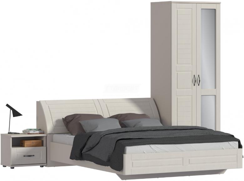 Спальня Столплит Сити 129-262-946-2947 бежевый песок/кофе