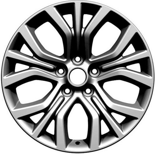 """Комплект дисков СКАД KL-293 7jx18"""" 5/114,3 ET35 D67,1 Artic-Grey/серый"""