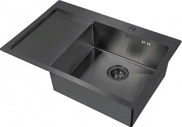 Кухонная мойка Zorg PVD 7851-R Grafit