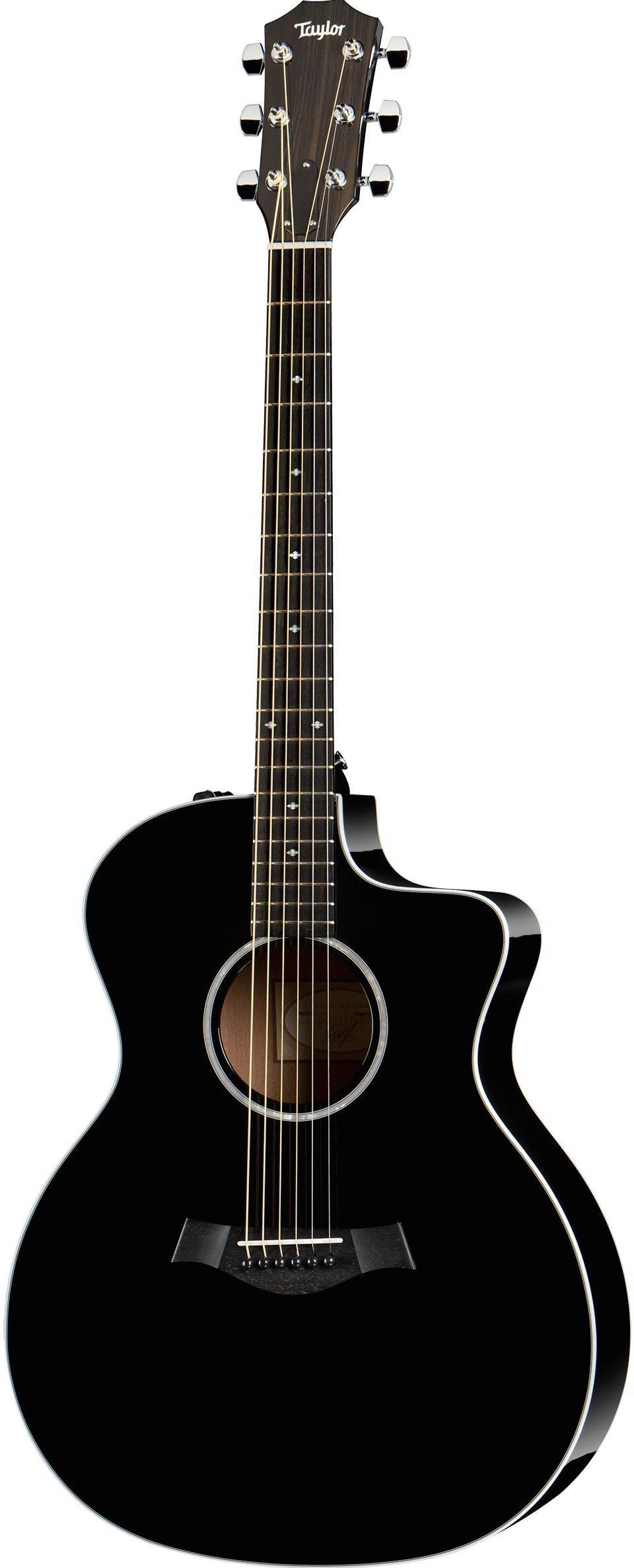 Акустическая гитара Taylor 214CE-BLK DLX