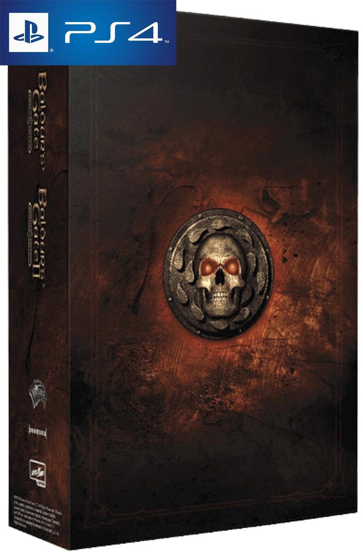 Игра Baldur's Gate Enhanced Edition I + Enhanced Edition II  Коллекционное издание PS4 русская версия