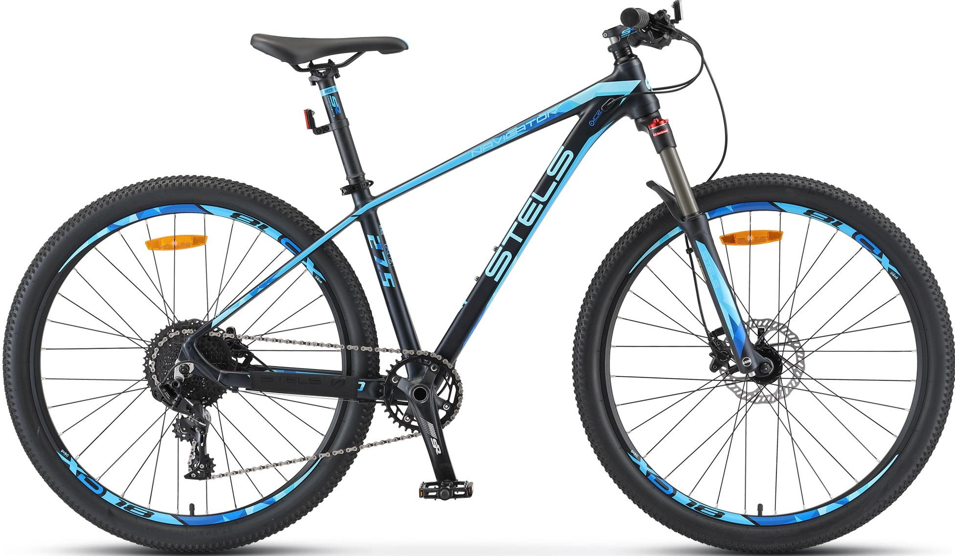 """Велосипед Stels Navigator 770 D 27.5 V010 (2020) темный/синий 27.5""""/19"""""""
