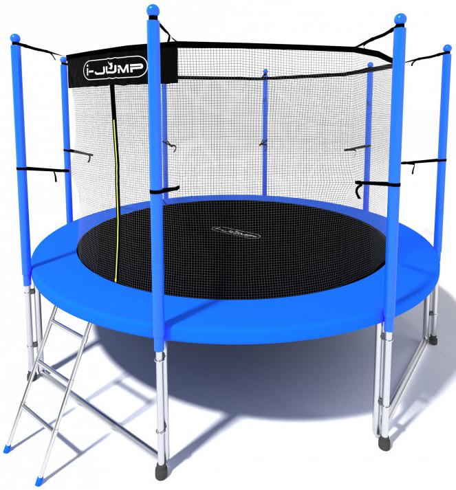 Батут i-Jump 6FT Blue (с внутренней сет…