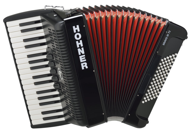 Аккордеон Hohner The New Bravo III 72 B…