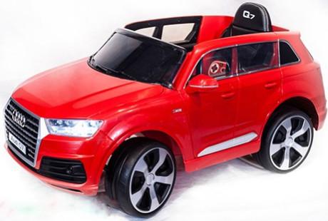 Электромобиль ToyLand Audi Q7 Red (высокая дверь)