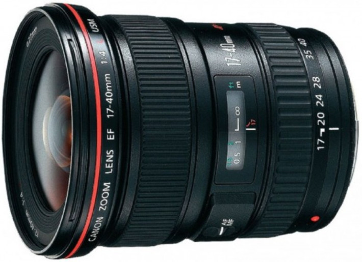 Объектив Canon EF 17-40mm f/4.0 L USM Black