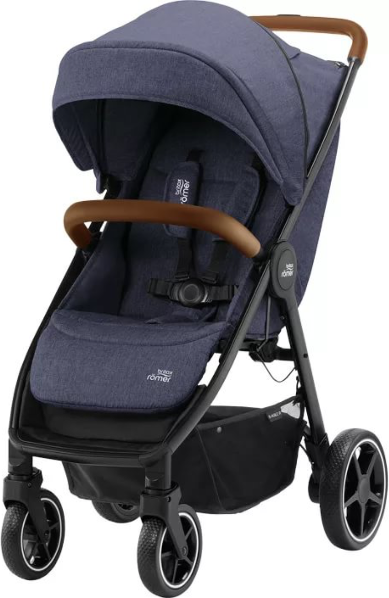 Коляска Britax Roemer B-Agile R Navy Ink/Brown