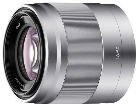 Объектив Sony E 50mm f/1.8 OSS Silver