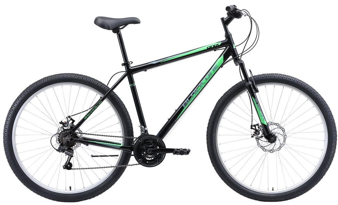 """Велосипед Black One Onix 29 D Alloy (2020) черный/серый/зеленый 29""""/20"""""""