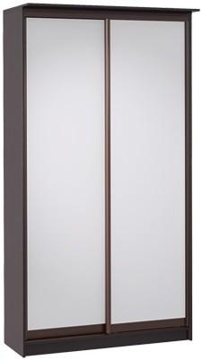 Шкаф-купе Цвет Диванов Тибр К-2 венге 125x60x234 см (двухдверный с зеркалом)