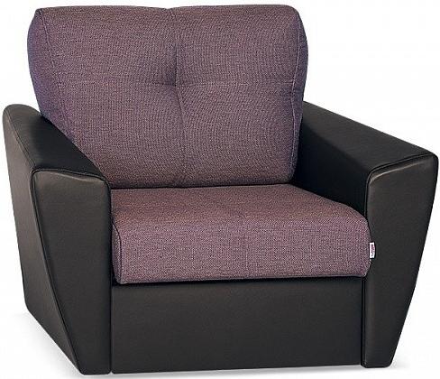 Кресло-кровать Цвет Диванов Амстердам Next пурпурный 114x90x76 см