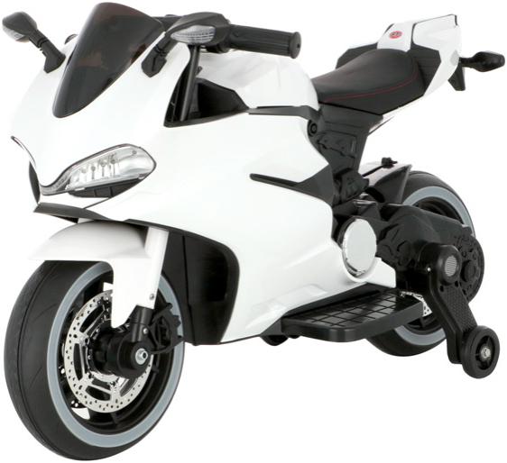 Электромотоцикл Harley Bella W12V White
