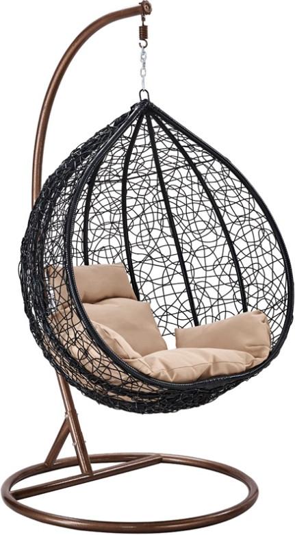 Кресло Афина-Мебель AFM-201A-XL коричне…
