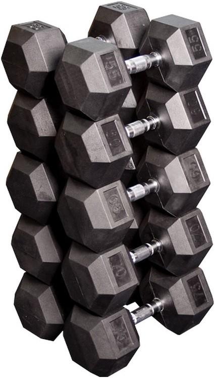Гантели Body-Solid SDRS650 5 пар 24,75-33,75 кг