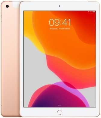 "Планшет Apple iPad 2019 10.2"" Wi-Fi + Cellular 128Gb Gold"